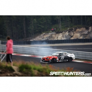 #FlashbackFriday to a #BackwardsEntry into my favorite turn at the freshly rebuilt Rudskogen race track. Good old @thespeedhunters days at @gatebil_official. @larry_chen_foto always lined up for that perfect shot. #FBF #HoldStumt #Roots