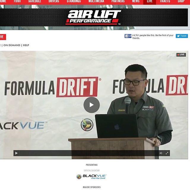 Formula Drift Media Day Live http://www.formulad.com/live