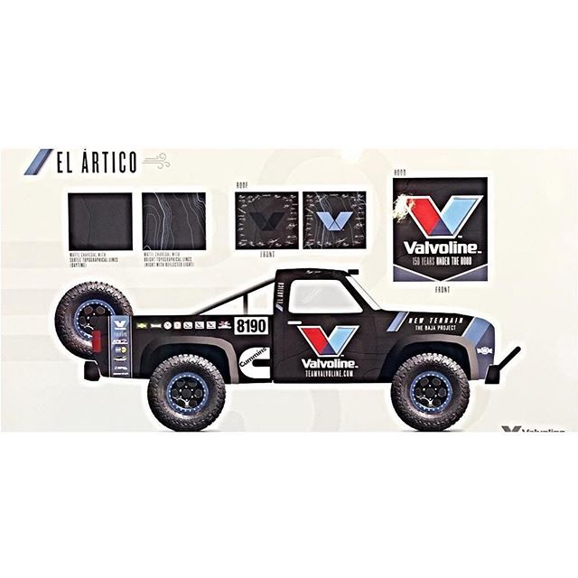 I'm super pumped to announce that I will be racing my first Baja1000 this year thanks to @valvoline! They are building this Cummins powered truck from the ground up for me and my buddy @ryantuerck to split driving duties!