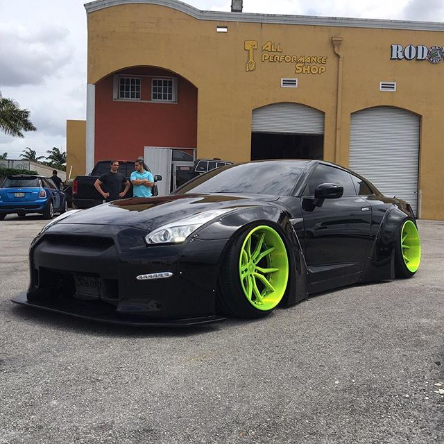 Liberty Walk Lb★works Gtr R35 Usa Sumrai Moters Lasvegas
