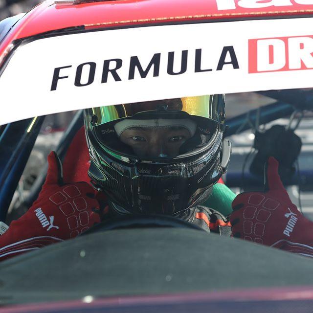 Thumbs up! Formula Drift Japan
