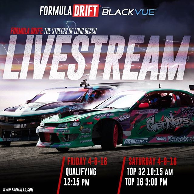 Watch Formula Drift Live this Friday and Saturday