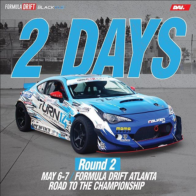 2 more days till we burn some tires in Atlanta |