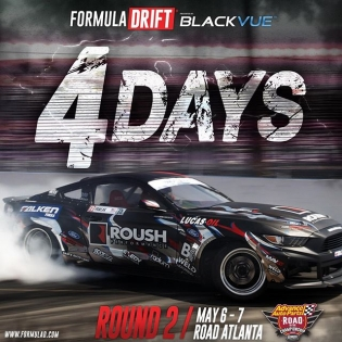 4 Days till Round 2 - Road Atlanta | #fdatl #formulad #formuladrift