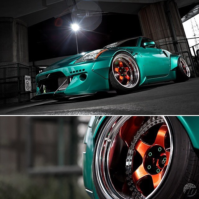 @9010design_oka Nissan Z on WORK Meister S1 F19x12.5J / R: 19x15J (custom color)