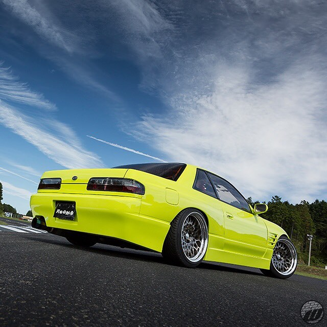 @l_o_o_k_i_n_g Nissan Silvia on WORK Seeker CX