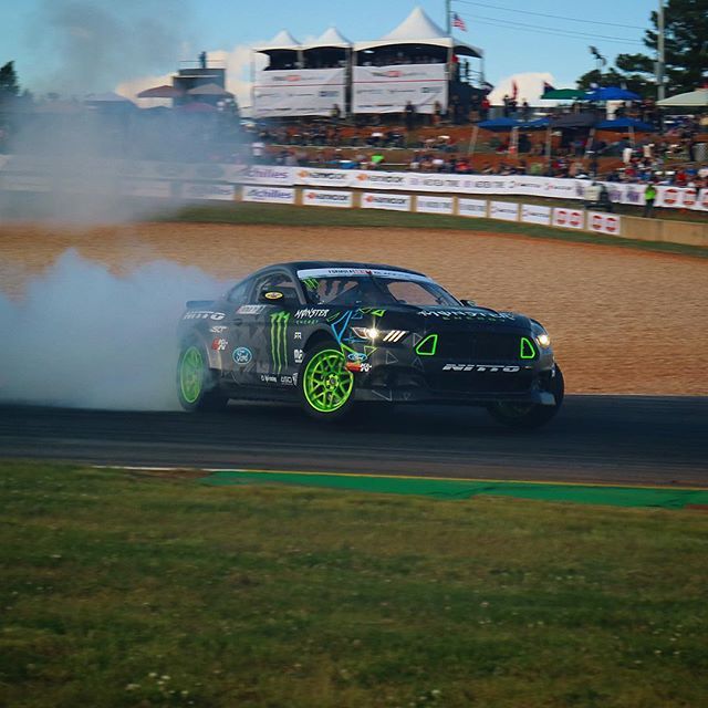 @vaughngittinjr takes the qualifying spot : @theidagency
