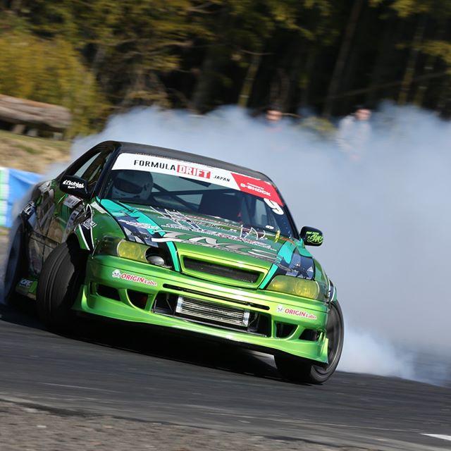A different type of green power! - Formula Drift Japan