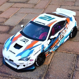 Amazing 1/10 scale RC model of @kengushi's #greddyracing #nexenracing #SRbyToyota #86 By @vivian_grobler