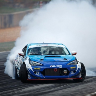 BRZ @daiyoshihara @falkentire | Photo by @larry_chen_foto | #formulad #formuladrift