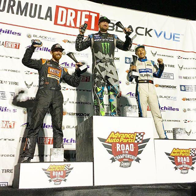 Congrats to @vaughngittinjr, @daiyoshihara and @chrisforsberg64 for their podium finishes tonight! Bye bye Road Atlanta.