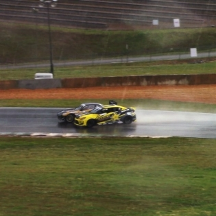 Dancing the rain dance at #FDATL! Excited for dry conditions for today's qualifying! @rockstarenergy @scionracing @nexentireusa #HoldStumt