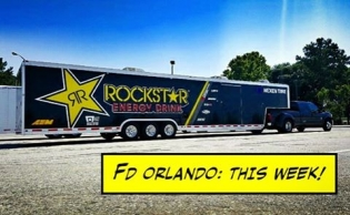 East bound and down! #PapapdakisRacing rig drivers Aldo & Joey are 60 miles from the Florida border. #FDORL is on this weekend!