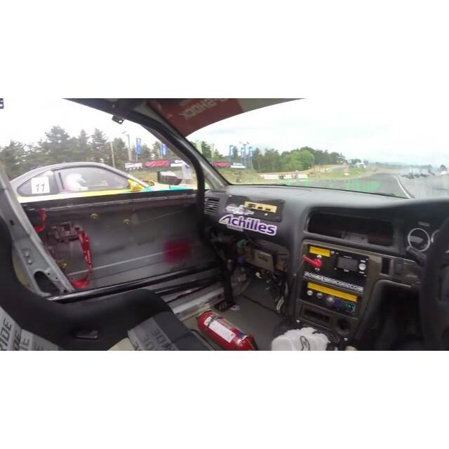 Formula Drift Japan Round 2, Ebisu Circuit - Andy Gray ride along @powervehicles100