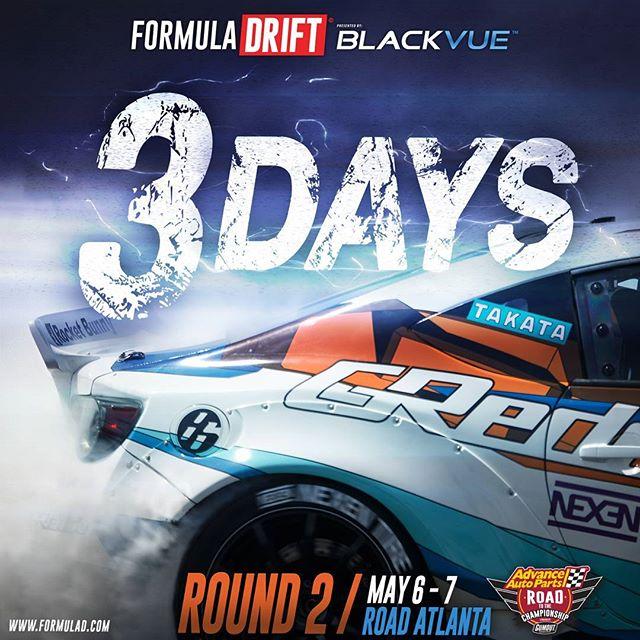 Formula Drift Road Atlanta - 3 Days Away
