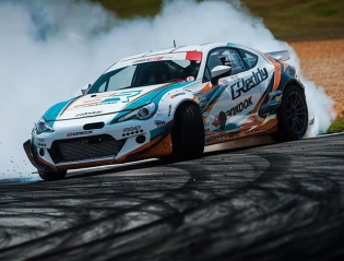 #KenGushi in the 2015 #greddyracing #SRbyToyota FR-S @boost_brigade