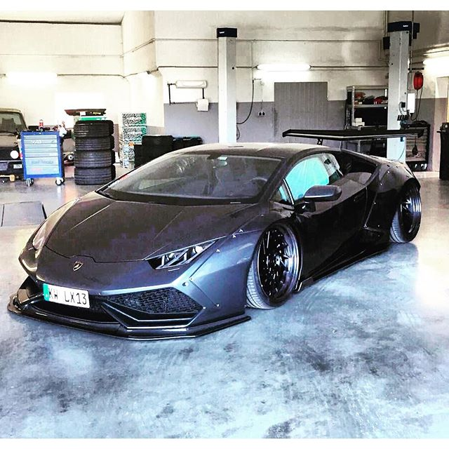 LB WORKS Huracan in Germany!! It is a @getdumped Project for @lexyroxx @libertywalkkato