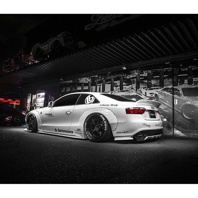 Liberty Walk Lb★works Audi A5 Japan Custom Libertywalkkato Drifting Com