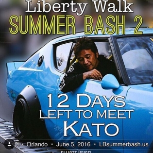 Liberty Walk Summer Bash2 UTI , Orlando, June 5 2016 See you guys soon!! I'm looking forward to seeing you again!!