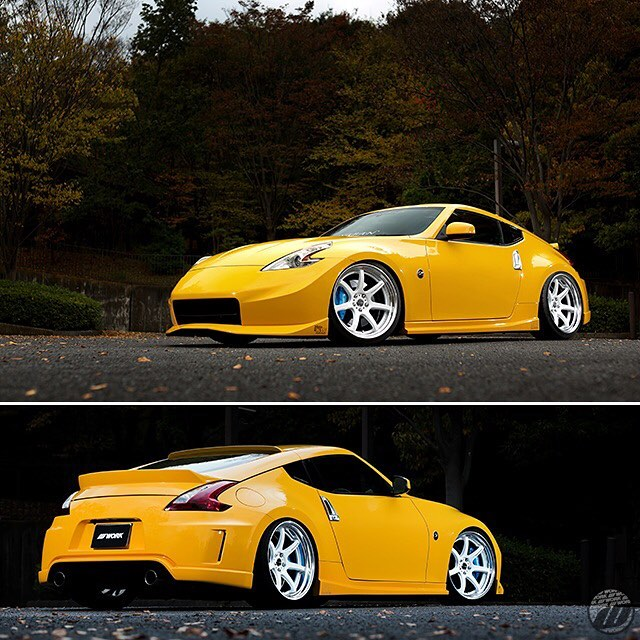 M Confidence Nissan Z34 on new WORK Emotion T7R2P