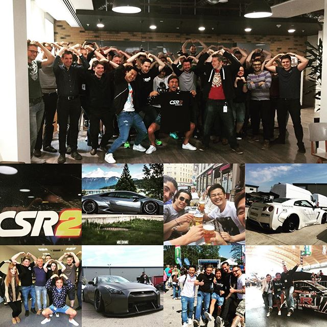 Many LB WORKS is coming to CSR2 on this summer!! It was pleasure to meet all LB family in Europe!! I appreciate your kindness!! We will show you great performance at Essen motor show!! See you at Essen motor show !! @libertywalkkato