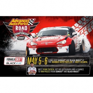 Meet @ryantuerck with @gumout at the @advanceautoparts RV at Round 2 - Road Atlanta | #formulad #formuladrift #fdatl
