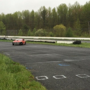 Our test day turned into a wet session but since it has rained at every FD for 2 years... We weren't complaining. @geoffstoneback was ripping and loving on his newly redesigned @voodoo13usa front angle kit. Thanks to @mikescustomwerks and @theonepapa for coming out today, and of course @etownracewaypark for the track! Atlanta here we come!