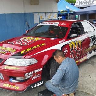 Shinozaki-san's chaser @ #Formula #Drift #Japan #FDJapan #FormulaDrift #FormulaDriftJapan #JDM #FormulaD #wildspeed #drifting #driftcar #tokyodrift