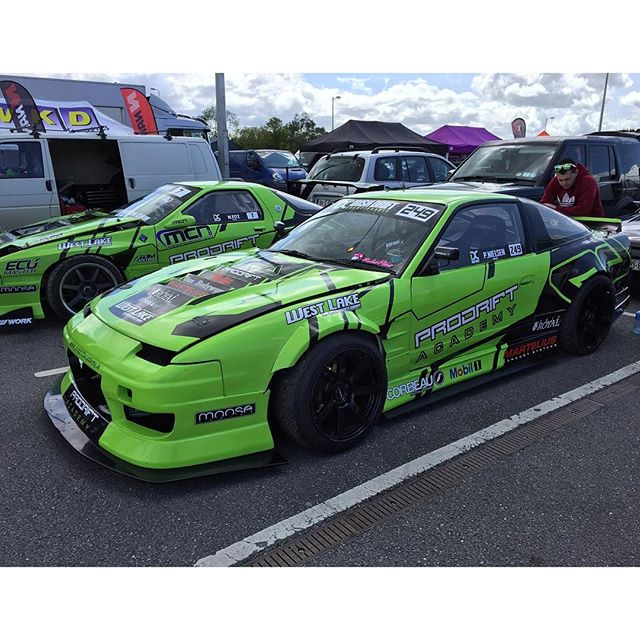 Some Of Many Cool Cars At Irishdriftchampionship DRIFTINGcom - Cool cars green