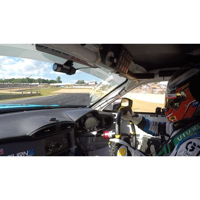 The shotgun view of my qualifying run at @formulad ATL.