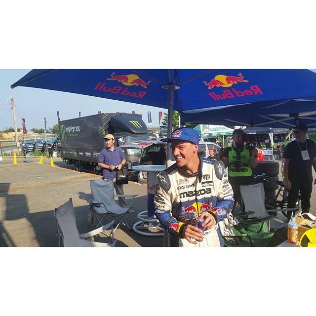 Winner round 2 Formula Drift Japan Mad Mike Whiddett @Redbull