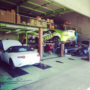 #inthegreddygarage Japan - #Miata #BRZ #R35 @trust.greddy