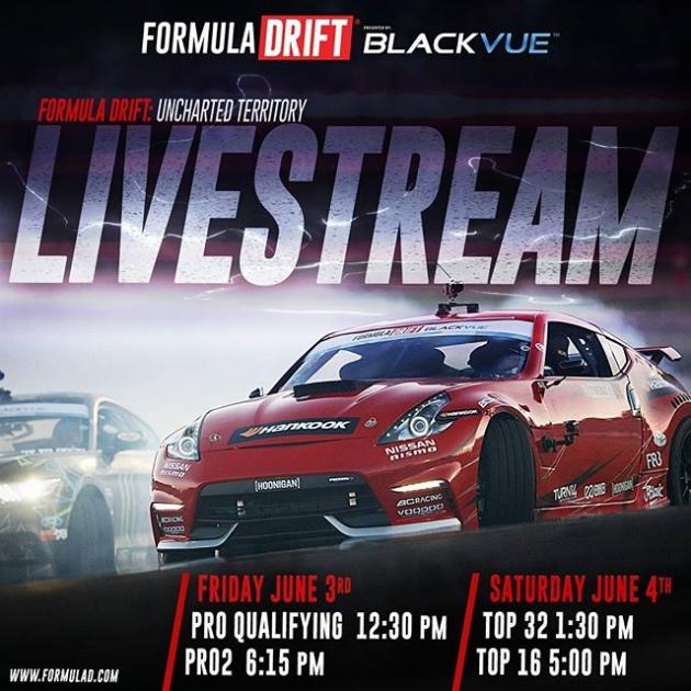 Formula Drift Florida 2016 Live Stream Schedule #fdorlando #formulad #formuladrift