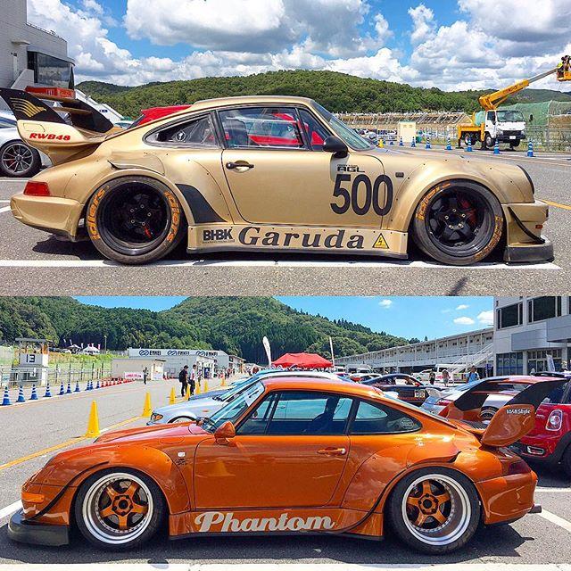 A couple of badass RWB Porsches from @formuladjapan last weekend.