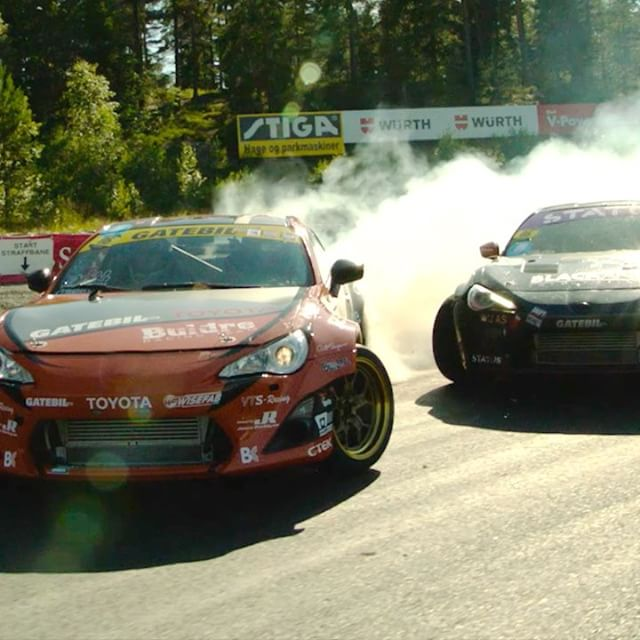 2JZ engines doing what they do best! Video highlights from our @gatebil_official season with @toyota_norge.  Check out the full 2 minute video at my Facebook page - the link is in my profile!   @rockstarenergy @ctekchargers @takataracing