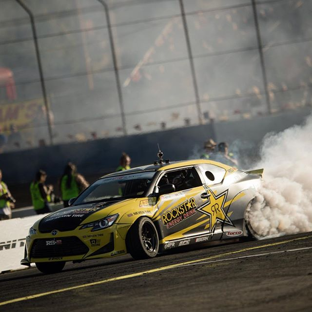 After 6 years of development, our platform is more competitive than ever. We've proved it's a championship caliber car, but drifting is a moving target and I'd like to thank and all our trusted partners for standing by our side as we are heading into the final round at Irwindale!  @rockstarenergy @scionracing @nexentireusa @motegiracing @ctekchargers @torcousa @berktechnology @adidasmotorsport @gatebil_official @gshock_us