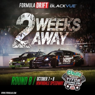 It is crazy to think that the final round of @formulad is only 2 weeks away! It is going to be one crazy event! #itsalwayscrazy #wallridesfordays
