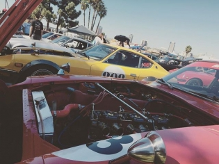 Japanese Classic Car Show in Long Beach. #datsunsfordays
