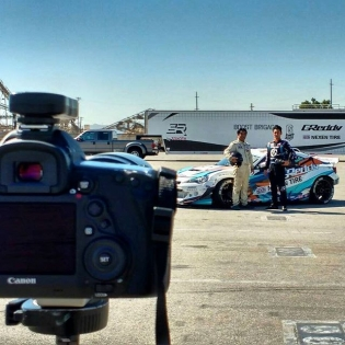 Nice photo opportunity today for @kengushi, his father and the #GReddyRacing #nexenracing #SRbyToyota #86 Pre- #FDIRW promotions @BOOST_BRIGADE