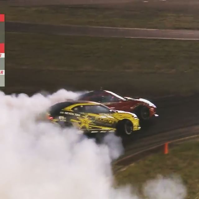 One of the most fun drift battles I've ever been a part of. Hats off to @geoffstoneback for straight up badass driving!
