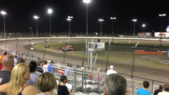 Sprint Cars are incredible to watch, especially after seeing slower cars on the track. It felt like my eyes were set to fast-forward. 900-1100hp at 1400lbs and 150mph+ during races.