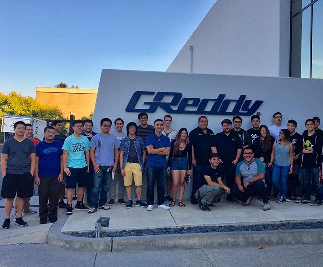 Thank you to the students from UCI for stopping by to visit our GReddy and today. @importsuci University of California, Irvine