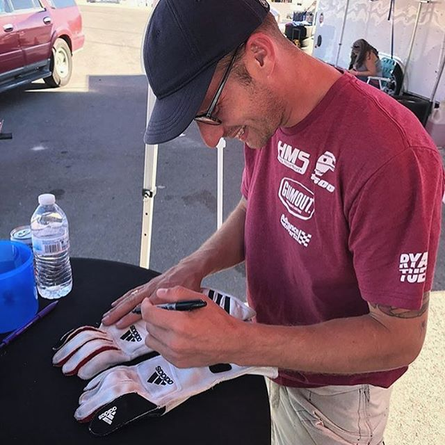 @advanceautoparts is giving away the pair of @adidasmotorsport gloves I wore at my debut race a couple weeks ago. I kept them pretty clean for you. Enter to win in a couple easy steps 1. Follow @advanceautoparts 2. Repost this photo and 3. Tag and #gumout. The winner will be chosen at random.