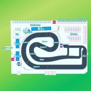 BEIJING DRIFT - Venue Map #d1 #d1gp #d1grandprix #drift #beijing