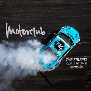 Excited to see tomorrow's episode on @motorclubshow on NBC Sports. Check it out and let me know what you think 8/11pm ET Thursday | #dai9 #motorclubshow #turn14 #falken #momo #mcleod #brz #wcw