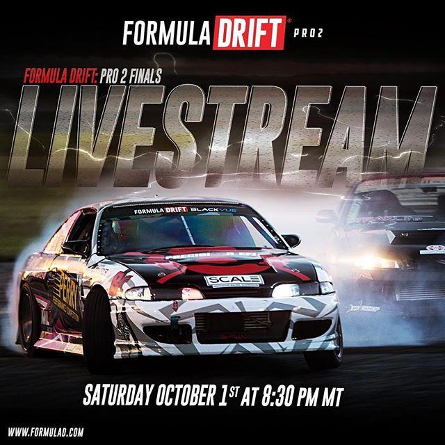 Formula DRIFT Pro 2 – Round 4 Livestream time