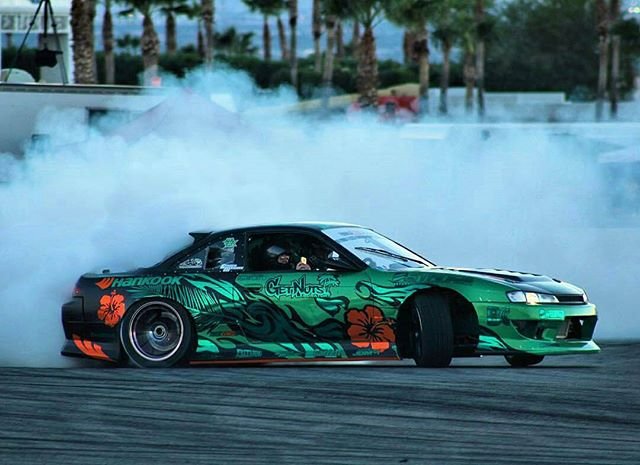 Old girl S14 is making a come back for this last round, due to an engine failure in the S15. This thing still rips and is a blast to drive!