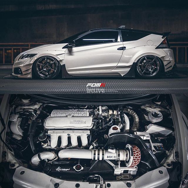 This isn't your average CR-Z. Build your dreams right at www.HKSUSA.com.