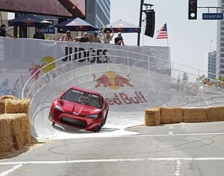 Throwback to 2011 when I piloted the @Importtunermagazine soap box #ScionFRS in the #redbullsoapboxderby This thing was awesome but that banked turn was sketch! #centerdrive