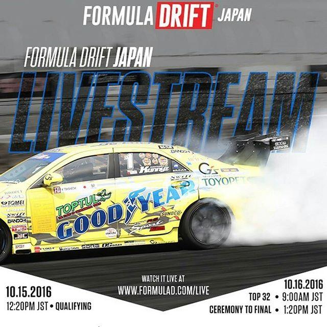 Watch Formula Drift Japan Live